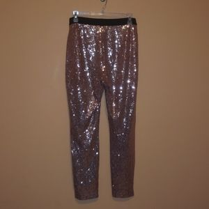 Sequined pants